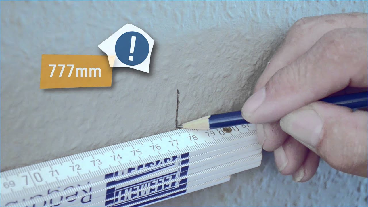Montagevideo 2 Reihige Wandschienen Von Element System Youtube