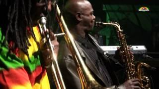 MACKA B & Roots Ragga Band - Live @ Stolica Reggae Festiwal 2012
