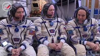 В ЦПК продолжаются комплексные экзаменационные тренировки экипажей МКС-55/56