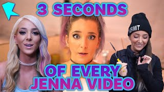 ~3 Seconds of EVERY Jenna Video