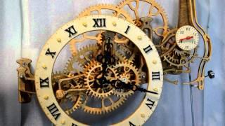 Деревянные часы.(, 2015-11-08T20:58:04.000Z)