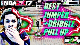 BEST DRIBBLE PULL UP +BEST JUMP SHOT MUST SEE NBA 2K17
