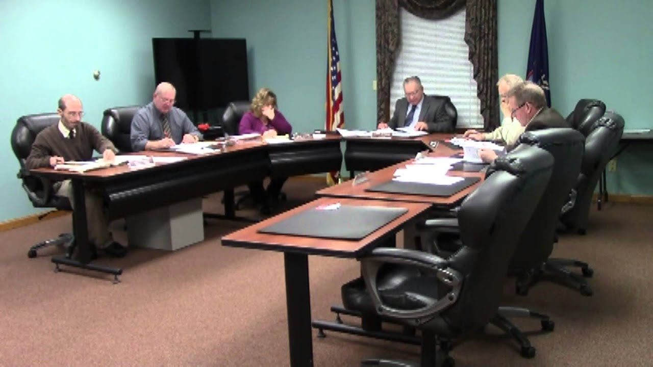 Champlain Town Board Meeting  2-9-16