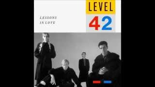 Level 42 - Lessons In Love (Sub. en Español)