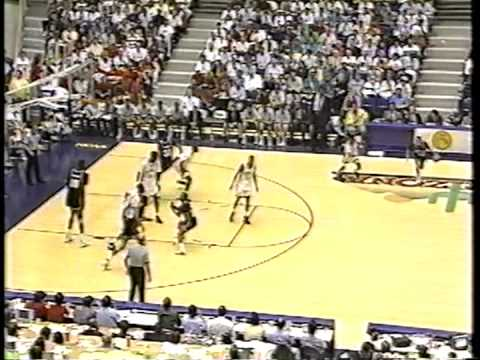 03/17/1991 NCAA West Regional 2nd Round:  #8 Georgetown Hoyas vs.  #1 UNLV Runnin' Rebels