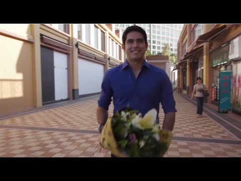 #WonderfulGlobeSurprise with Gerald Anderson in Hong Kong