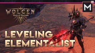Wolcen Elementalist Build Leveling - Full Playthrough (Part 6)