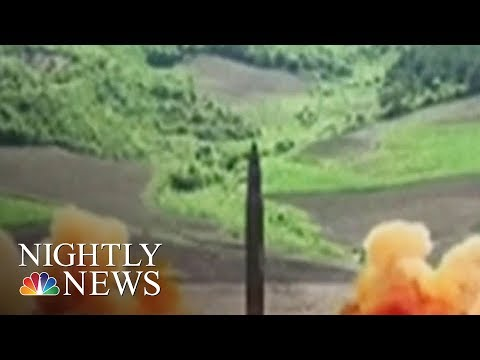 North Korea Could Launch Another Missile This Weekend | NBC Nightly News