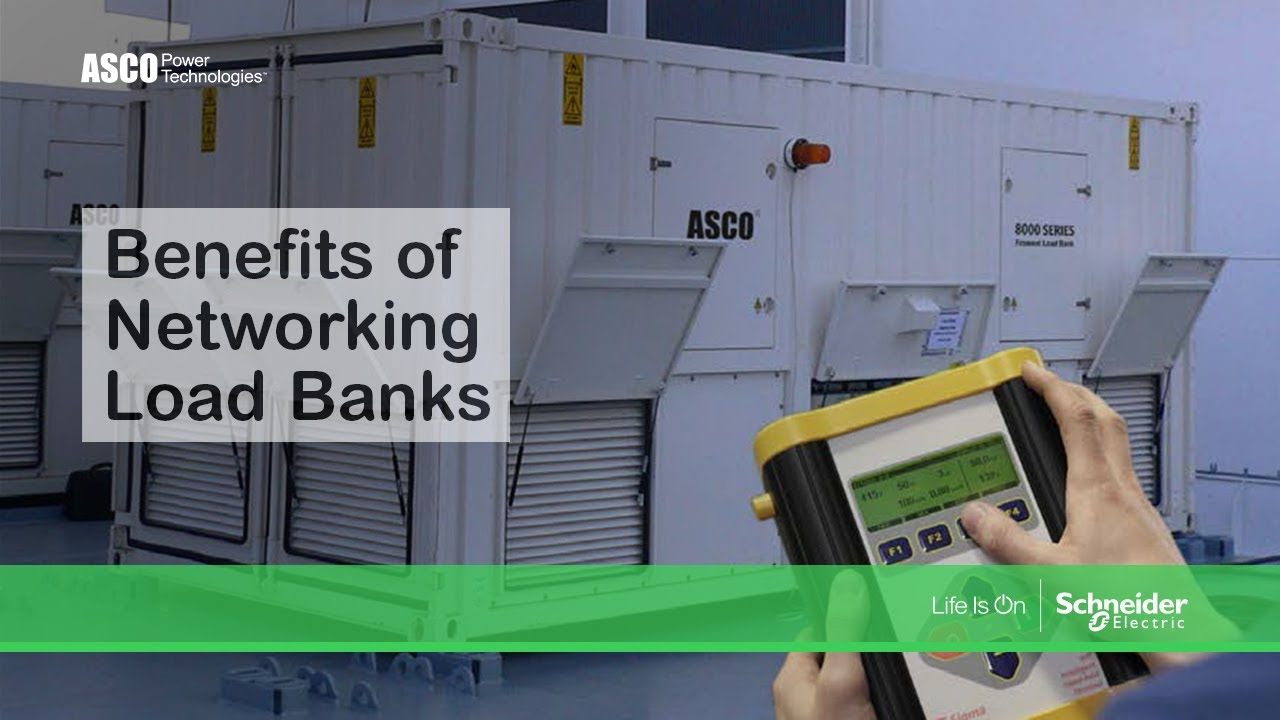 White Paper Video - Benefits of Networking Load Banks