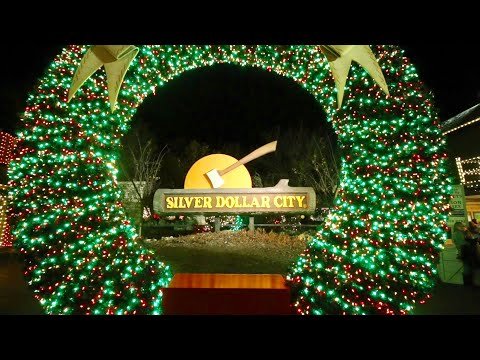 Silver Dollar City : Christmas In Midtown 2018 - Most Illuminated Park On Earth / 6.5 Million Lights