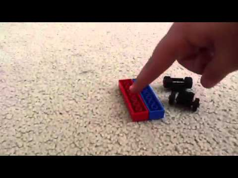 How to make a balloon powered Lego car - YouTube