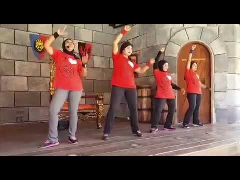 Lina's aerobic – zumba freeze – legoland malaysia