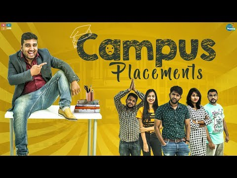 Campus Placements | Chill Maama