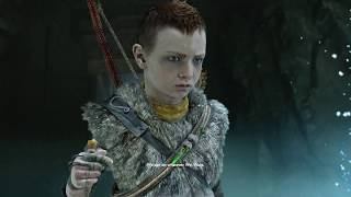 God of War 4 - All Scenes of Atreus Being Cocky & Mimir Says He Will Become Bad (GoW 2018) PS4 Pro