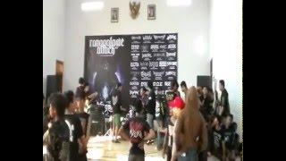 Dance Floor Anthem Never Give Up Outright cover on Ronggolawe Attack #2   YouTube