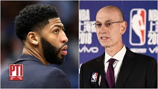 Should Adam Silver block any Anthony Davis trade to the Lakers? | Pardon the Interruption