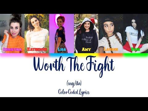 Cimorelli - Worth The Fight (Color Coded Lyrics - ENG/ITA)
