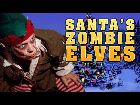 SANTA'S ZOMBIE ELVES ★ Left 4 Dead 2 Mod (L4D2 Zombie Games)