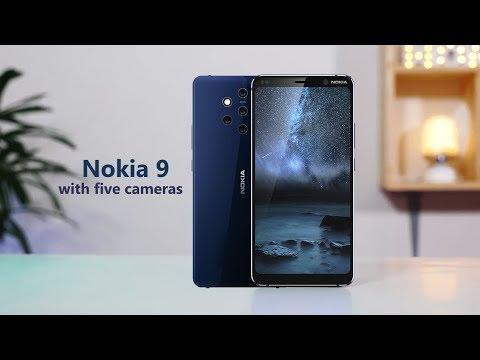 Nokia 9 || with five camera