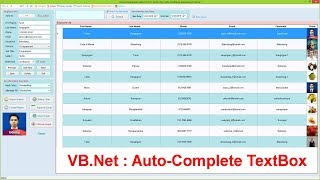 VB.Net : How to Create Auto-Complete Search TextBox (+ Auto-Search Functionality)