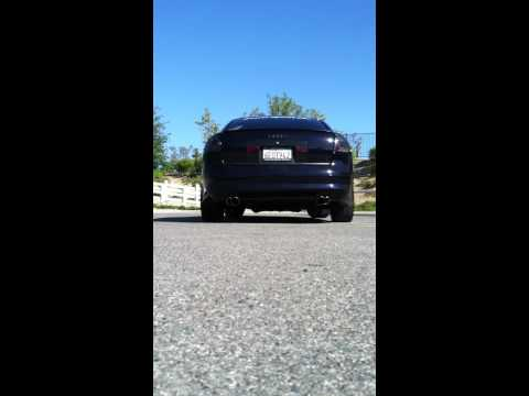 Repeat Audi a6 catback straight pipe exhaust no mufflers by Ed