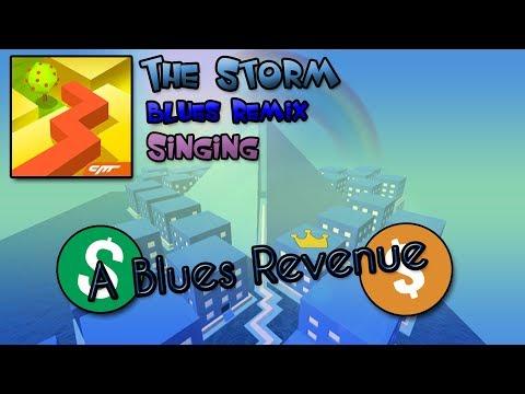 Dancing Line Singing - A Blues Revenue (The Storm - Blues Remix)