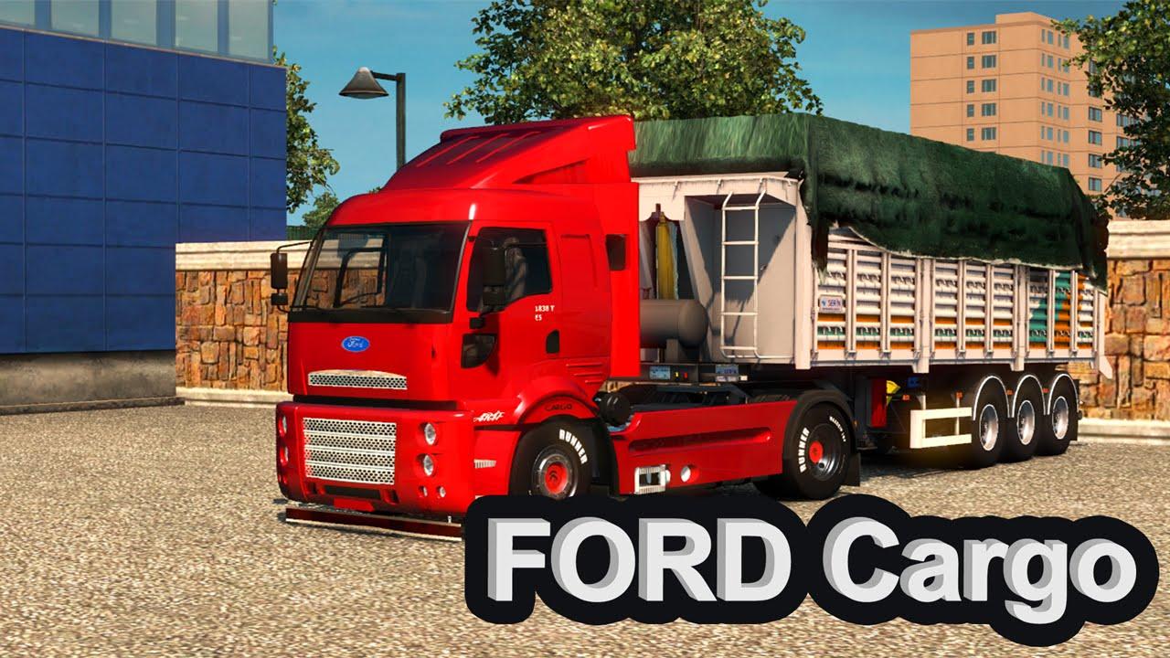 euro truck simulator 2 ford cargo 1838t e5 modu