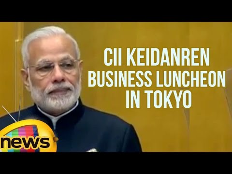 PM Modi Speech At CII Keidanren Business Luncheon In Tokyo | Mango News