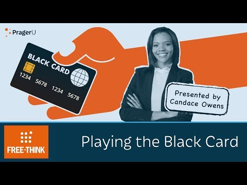 Playing the Black Card