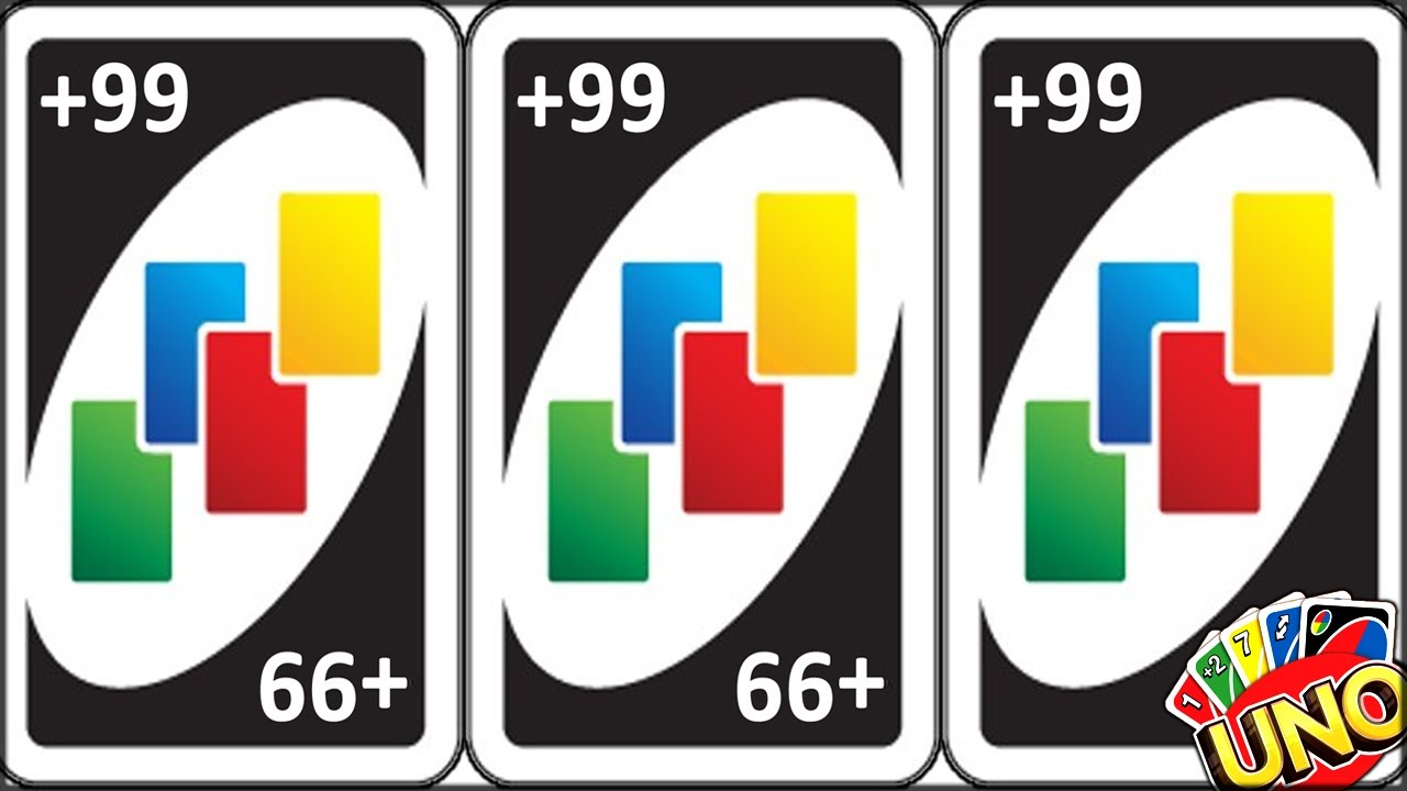 THREE PEOPLE DRAW THE 99 ULTIMATE UNO CARD UNBELIEVABLE