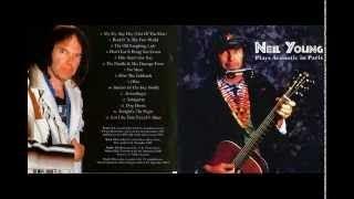 Neil Young Tour Plays Acoustic Live In Paris 1989 Full Album