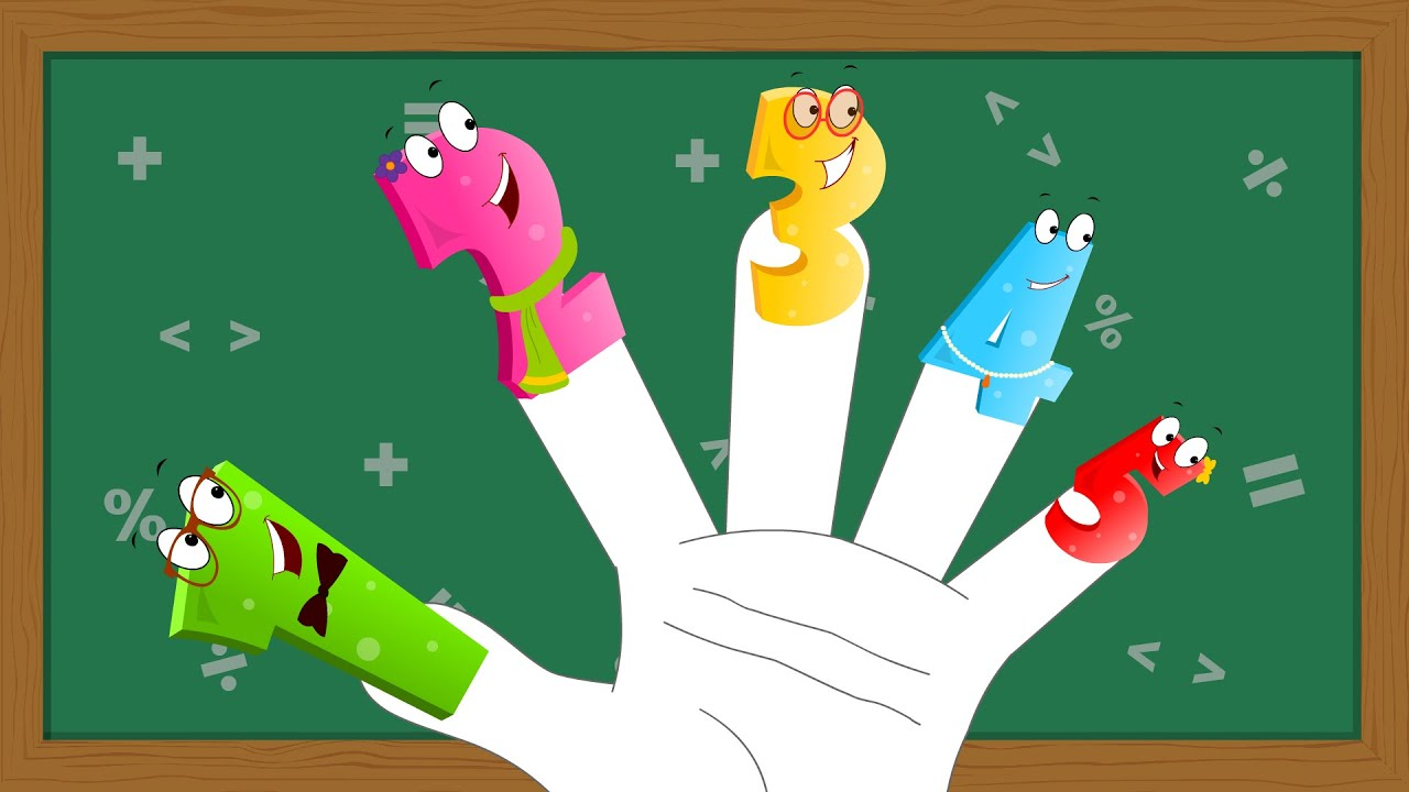 Numbers Finger | Family Nursery Rhymes For Kids And Song ...