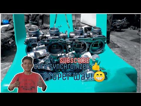 How To SYNCHRONIZE A Carburetor | [Proper Way]