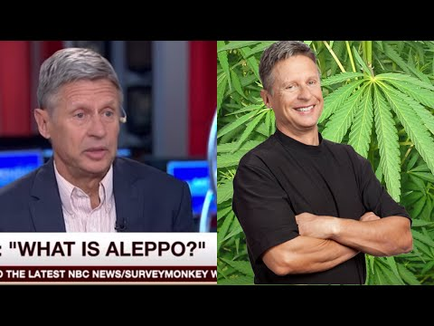 "Presidential Candidate Gary Johnson Asks MSNBC ""What Is Aleppo?"" #WhatIsAleppo (VIDEO + REACTION)"