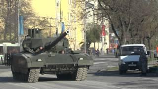 Военная техника на улицах Москвы 7 - 9 мая 2015 г.