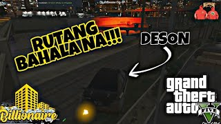 CARCHASE with DESON NG BILLIONAIRE GANG! - Billionaire City RP GTA 5