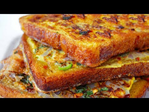 Spicy Masala Bread Toast