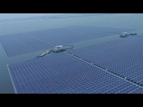 World's largest floating solar farm in E China