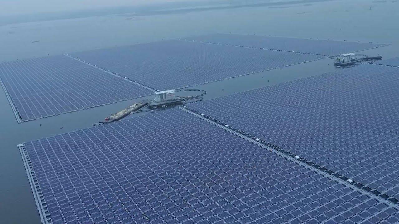 Image result for world largest floating solar plant