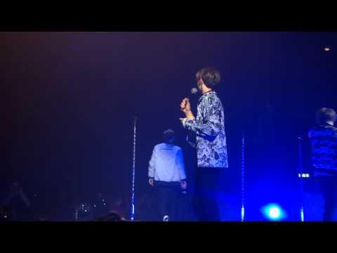 Olly talking | The Fooo Conspiracy | Globe arena | 12.09.15
