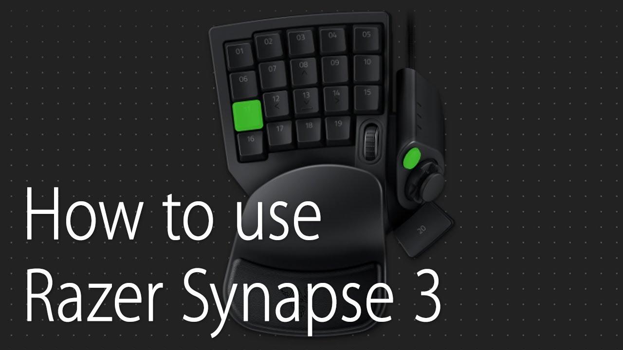 How to use Razer Synapse 3