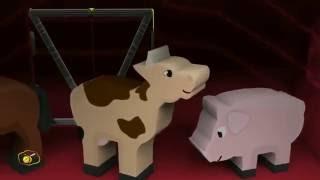 les animaux de la ferme en mina