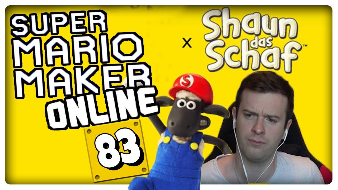 Super Mario Maker Online Part 83 Shaun Das Schaf Perfekte