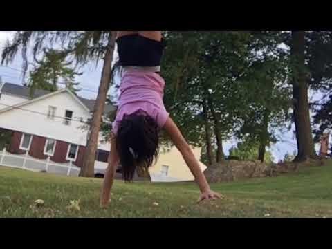 Random gymnastics back walkover challenges ▶2:05