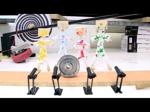 2D Photography Rube Goldberg Machine