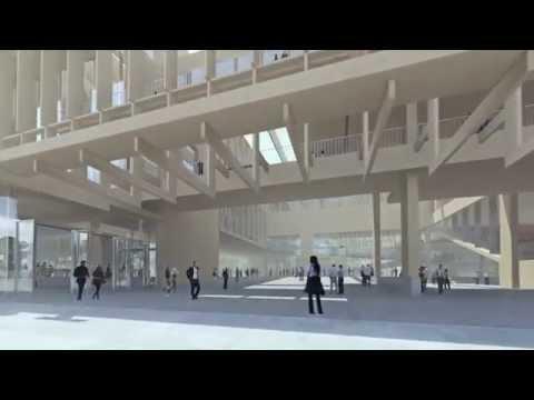 Grafton Architects' Institut Mines Telecom in Paris