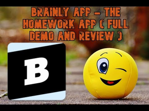 Brainly App - The Homework App - (Full Demo and Review ) recommended for students