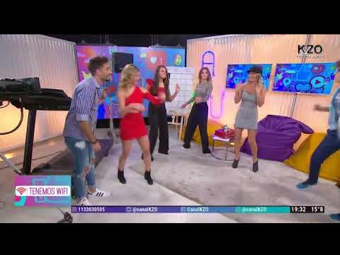 ¡Rocío Marengo recreó el baile del Koala en Tenemos Wifi!