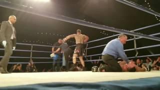 Boxeador sufre muerte cerebral tras ser noqueado