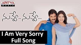 I Am Very Sorry Full Song II Nuvve Nuvve Movie II Tarun, Shreya
